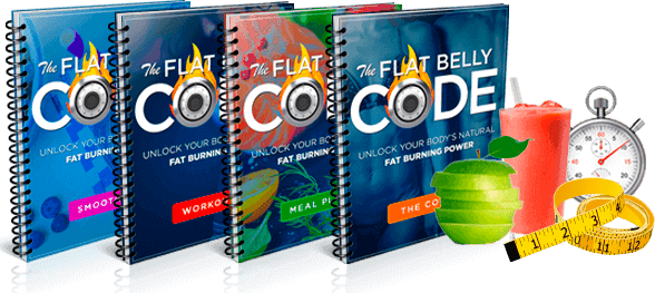 Flat Belly Code Cover