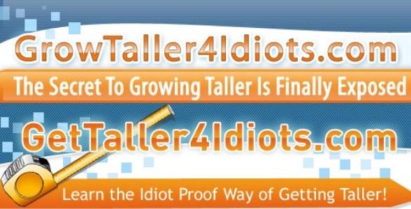 Get Taller 4 Idiots Discount