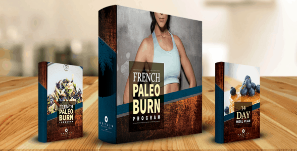 French Paleo Burn Cover