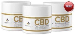 Prosper CBD Pain Freeze Cream Cover