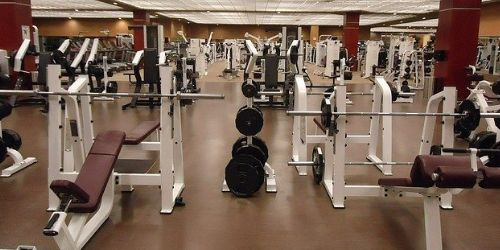 Rigorous training at gym