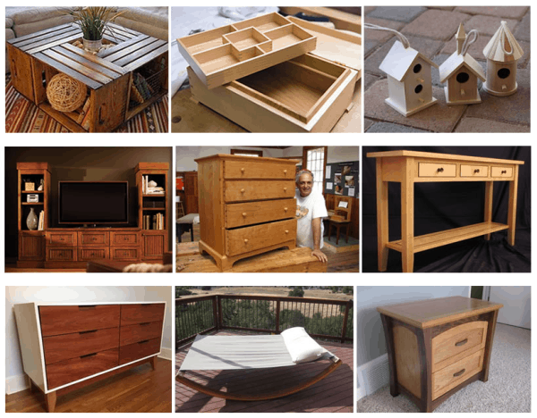 Complete Woodworking Projects and Plans