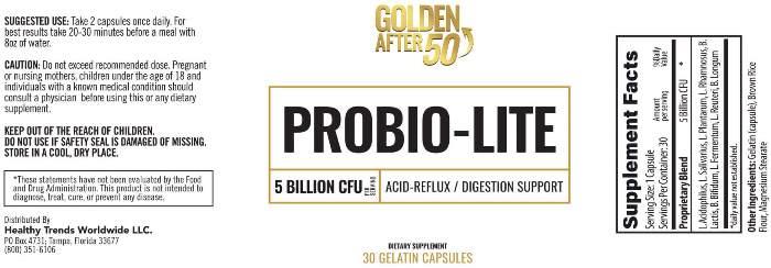 Probio-Lite Facts