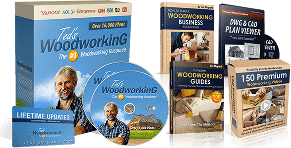Teds Woodworking Review Cover